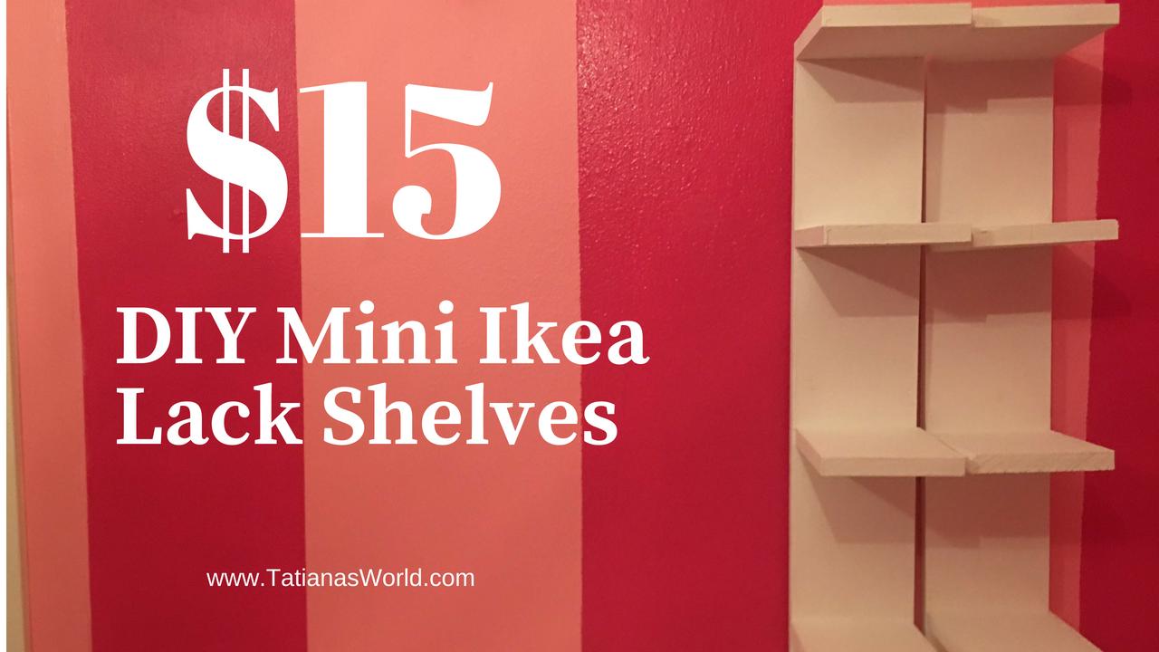 diy mini lack shelf dupe from ikea
