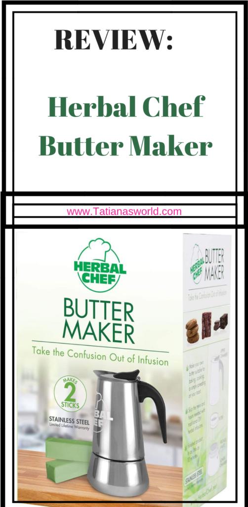 herbal chef butter maker easy butter maker magical butter ez canna butter cannabutter cannabis infused how to