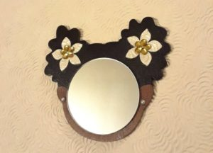 natural hair mirror afro